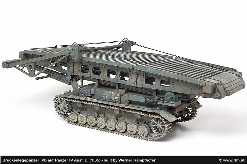 Brückenlegepanzer IVb on Panzer IV Ausf  D (1:35), built by