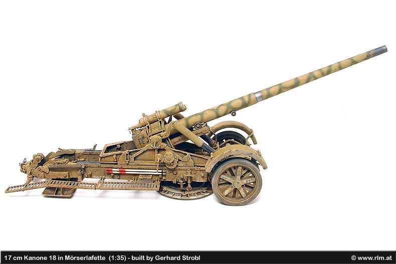 German Artillery - 17 cm Kanone 18