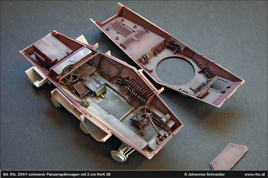 the luftwaffe in scale sd kfz 234 1. Black Bedroom Furniture Sets. Home Design Ideas