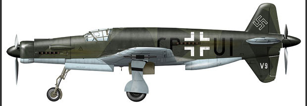 luftwaffe color profiles  dornier do 335 prototypes