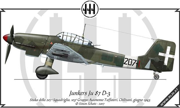 Junkers Ju 87 D-3,